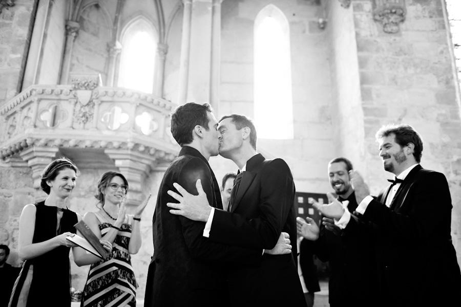 un mariage émouvant à l'abbaye de Royaumont