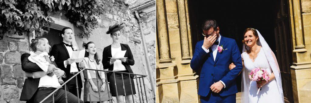 un mariage champêtre et chic au château d'Hénonville dans l'Oise