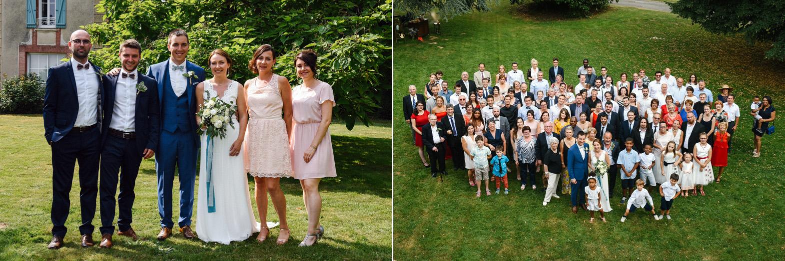 cocktail mariage extérieur champêtre