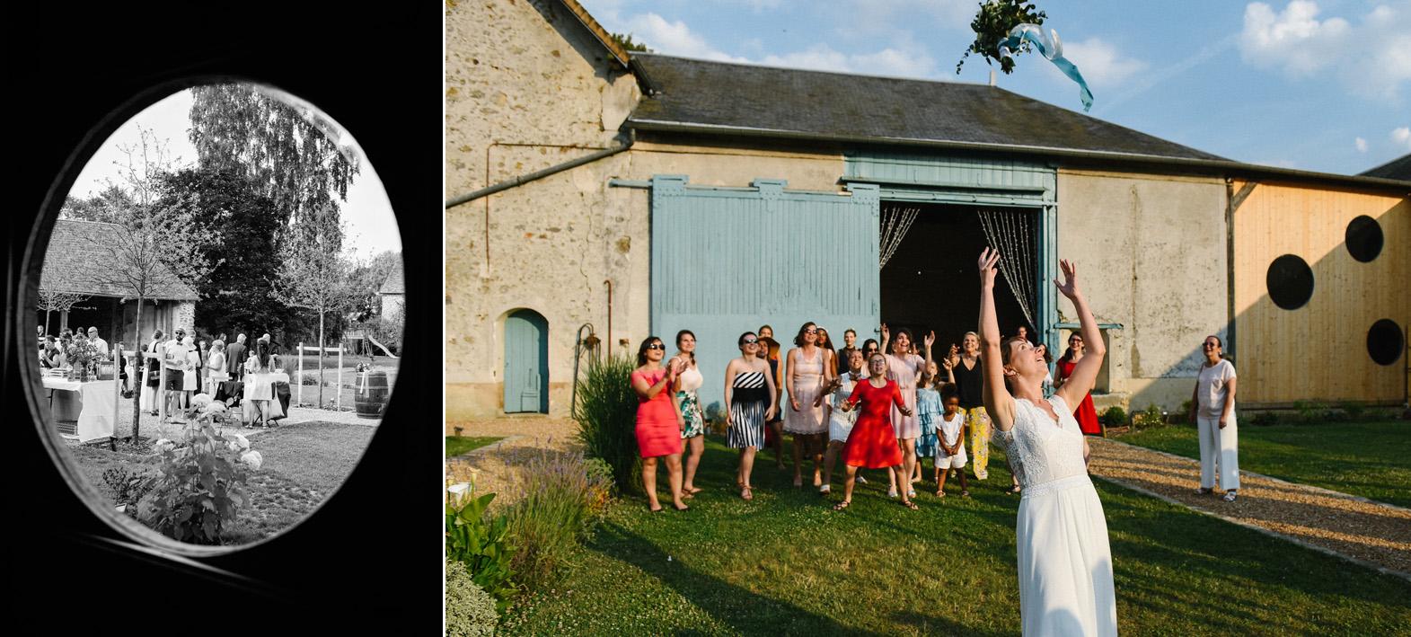 cocktail mariage champêtre extérieur