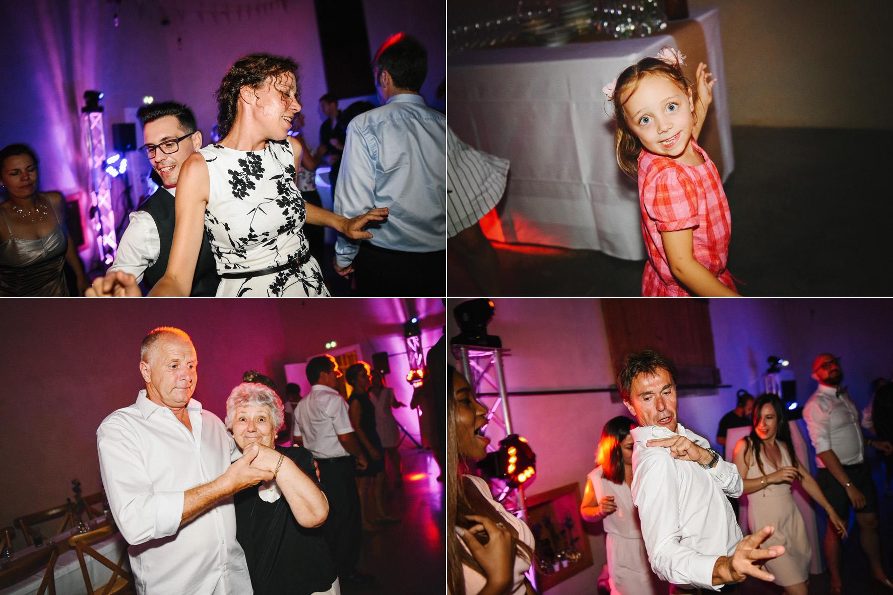 soirée de mariage dancefloor