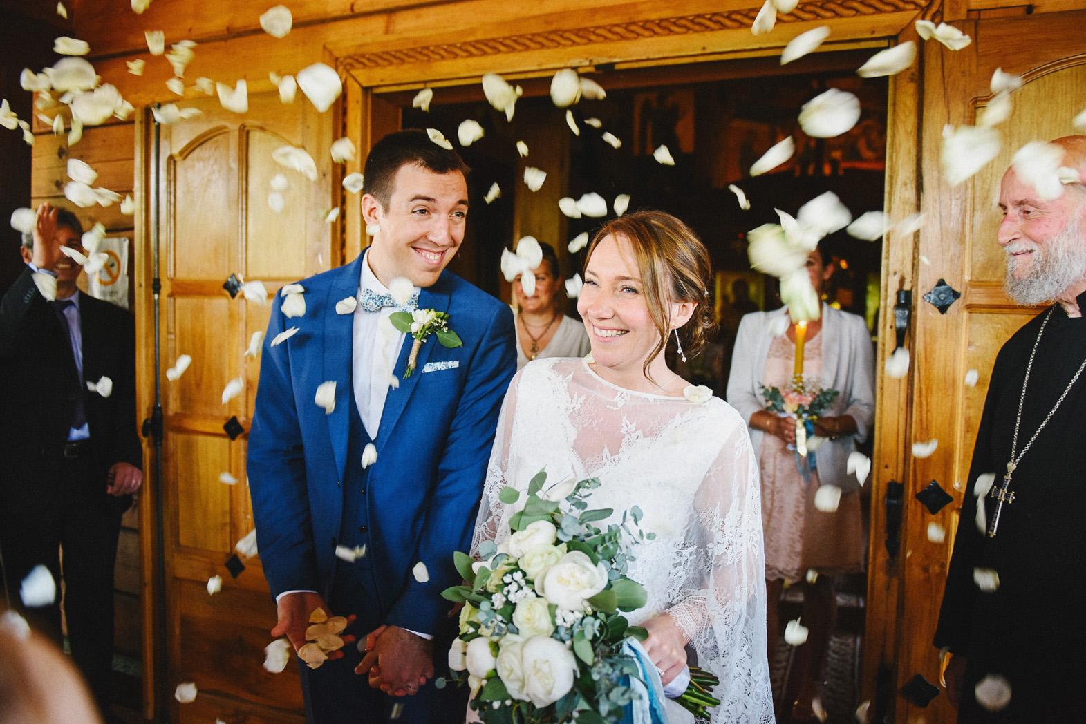sortie cérémonie mariage orthodoxe