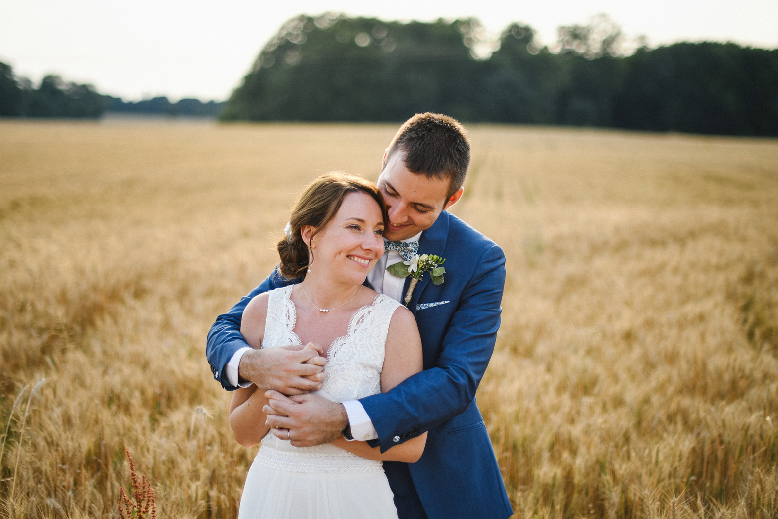 photos couple mariage champêtre