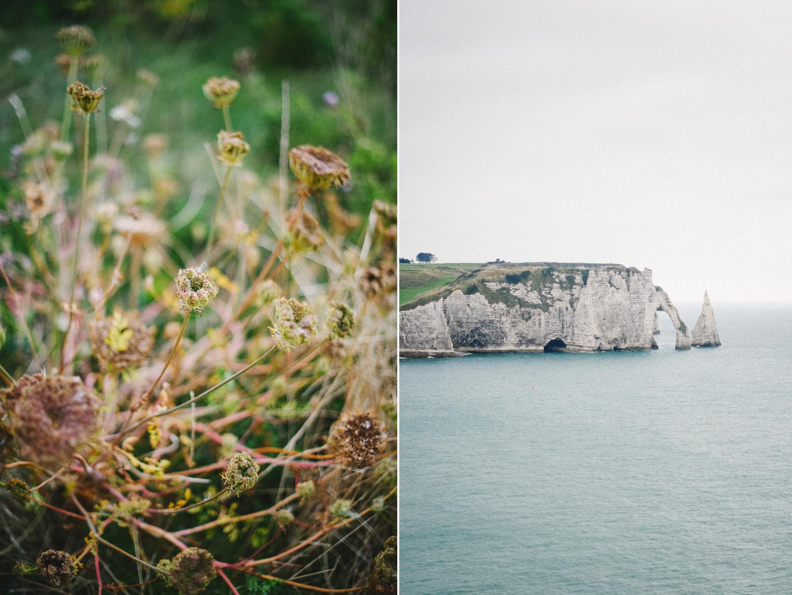 diptyque paysage Normand en bord de mer