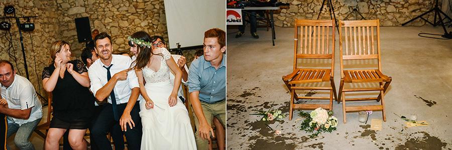 les animations pendant la soirée de mariage