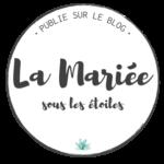 badge publié sur le blog La Mariée sous les Etoiles