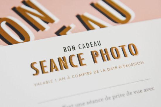 bon cadeau séance photo de portrait en studio et en extérieur à Paris et Toulouse
